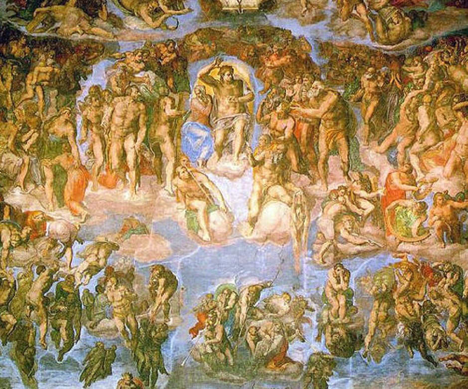 Michelangelo-Fresco_of_the_Last_Judgement_None