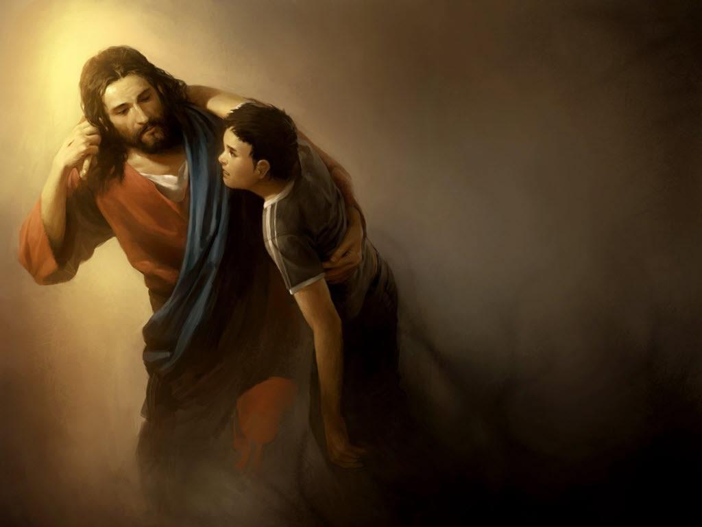 resgate-por-amor-jesus-ajudando-um-menino