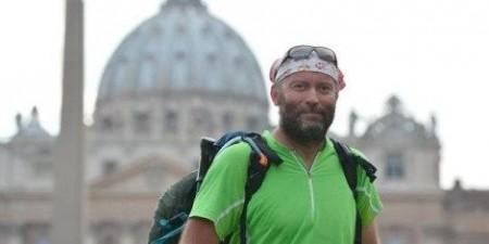Padre Vesin em Roma. Demitido de suas funções por ser maçom.