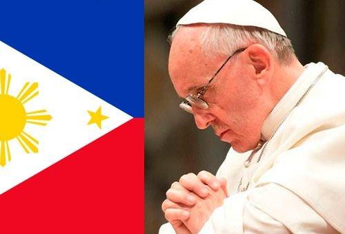 Francisco aos filipinos: Rezem a oração do por quê para que o Pai do céu olhe por vocês