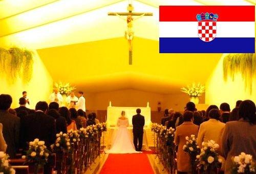 Com plebiscito a Croácia protege o matrimônio entre homem e mulher