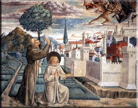 São Francisco de Assis e o diabo