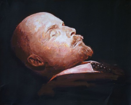 Lenin head study first session