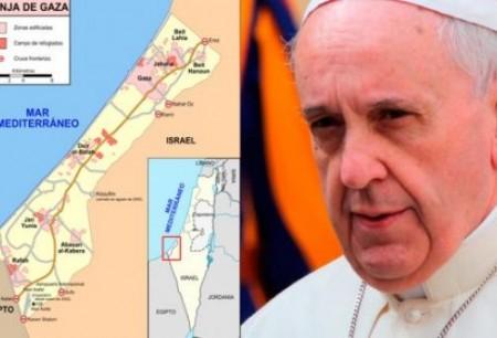 Papa Francisco telefona para Peres e Abbas pedindo que continuem buscando a trégua na Faixa de Gaza