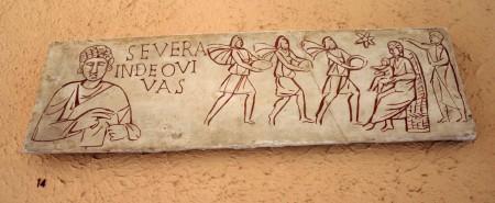 XV14_-_Roma,_Museo_civiltà_romana_-_Adorazione_dei_Magi_-_sec_III_dC_-_Foto_Giovanni_Dall'Orto_12-Apr-2008